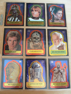 *** Topps Star Wars Chrome Archives Chase Cards D1-D9 Mint Condition ***