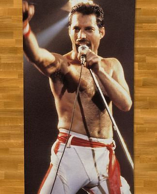 Freddie Mercury BEACH TOWEL NEW Queen Who Wants To Live Forever Barcelona