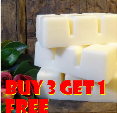 Soy Wax Clamshell Break Away Tart Melt Wickless Candle - (BUY 3 GET 1 FREE) # A