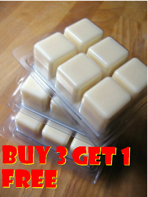 Soy Wax Clamshell Break Away Tart Melt Wickless Candle - (BUY 3 GET 1 FREE) # G