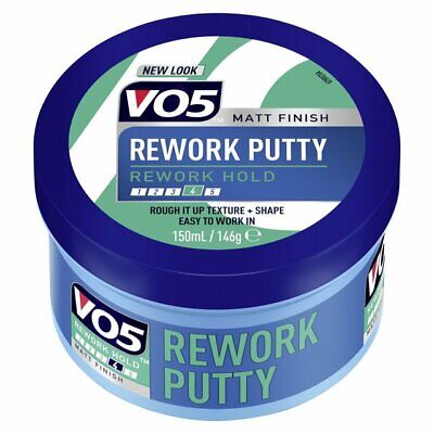 VO5 EXTREME STYLE REWORK FIBRE PUTTY 3 x 150ML