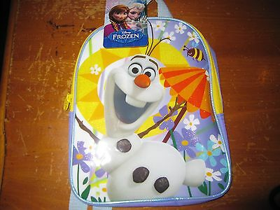 """NWT Disney Frozen OLAF 10"""" Mini Toddler Dome Backpack"""