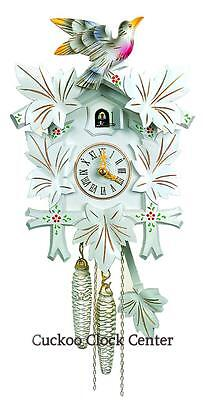 Cuckoo Clock 1-day-movement Chalet-Style 30cm Black Forest By Hubert Herr
