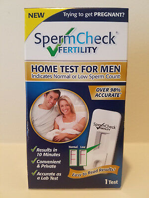 SpermCheck Fertility Home Test for Men Results in ten Minutes