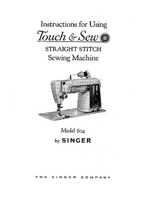 SINGER 40ADVANCE SEWING MachineEmbroiderySerger Owners Manual Extraordinary Singer Sewing Machine Model 7422 Manual