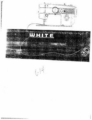 white w450 sewing machine embroidery serger owners manual 18 99 rh picclick com white model w450 sewing machine manual white model w450 sewing machine manual