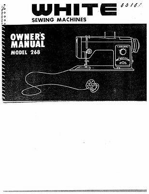 white w450 sewing machine embroidery serger owners manual 18 99 rh picclick com
