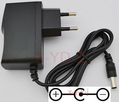 AC/DC 9V 1A Switching Power Supply adapter Reverse Polarity Negative Inside EU