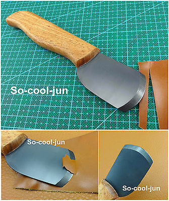 Leder Werkzeug 1pc Nano Ceramic Leather Craft Skiving Cutter Tool For Handwork