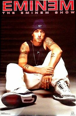 THE EMINEM SHOW 2002 Funky Poster OOP