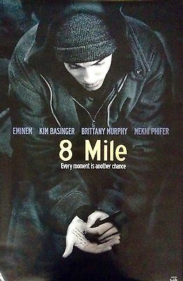 8 MILE EMINEM Movie Poster 2002 Funky