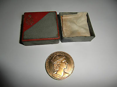 1953 QUEEN ELIZABETH II CORONATION COIN ROLLS ROYCE in original bix