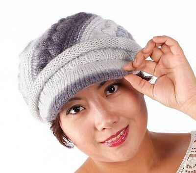 100% hand knitted fashion hat and scarf