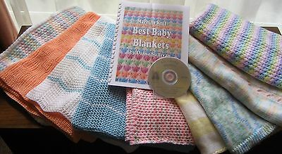 Best Baby Blankets to Machine Knit by Diana Sullivan