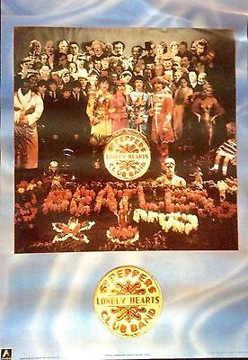 THE BEATLES SGT. PEPPER'S LONELY HEARTS CLUB BAND Scorpio Poster