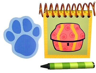 Blue's Clues Handy Dandy Golden Treasure Notebook Package Extra Large Spiral