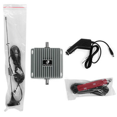 Phonetone 850/2100MHz Dual Band Signal Booster Repeater Amplifier Kit For Car/RV