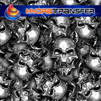 Skull Calavera 14044 Hydrographic Film  Wtp Water Transfer Printing.