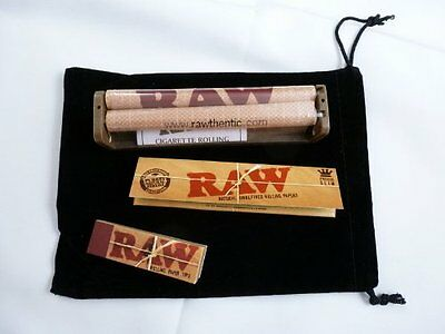 RAW King Size Deal -110mm Rolling Machine +King size Slim Paper & Filter Tips