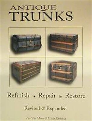 200 page Antique Trunk Restoration BOOK   A0040