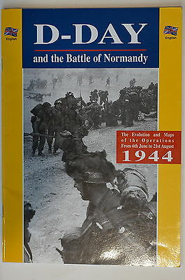WW2 D-Day and the Battle of Normandy Operations from Jun-Aug 1944 Reference Book