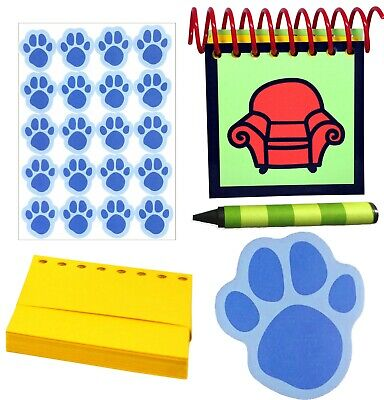 Blues Clues Handy Dandy Notebook + 150 Pages, 8 Crayons