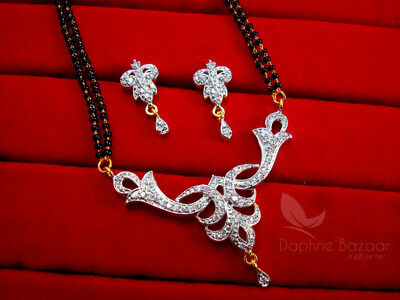 MS15 Daphne Vivaah Collection Zircon Studded Mangalsutra for Women Gift for Wife