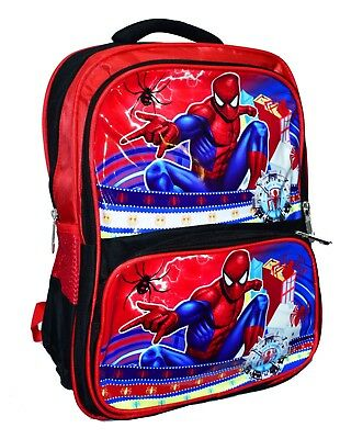 New Kids Lunch Box Spiderman Bag Backpack Large Boys Christmas Xmas Gift Toy