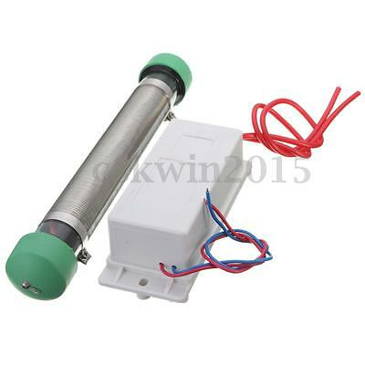 AC 220V Ozone Generator Tube 7.5g/hr for DIY Water Plant Air Purifier Cleaner