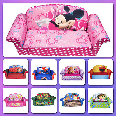 flip sofa bed toddler lounger chair sized seat furniture soft plush foam kids - Flip Chair Bed