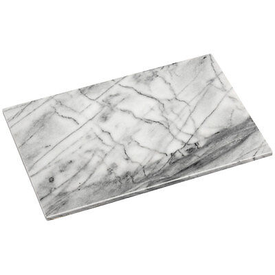 Extra Large Heavy Marble Pastry Board Chopping Board Work Saver 41 x 31 x 2cm