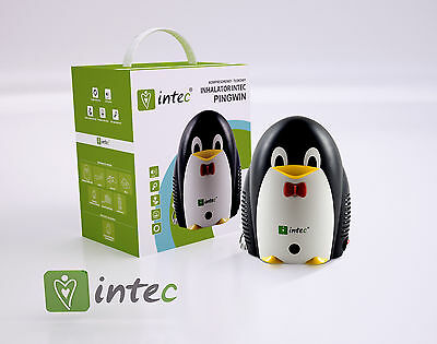Nebuliser Compressor Inhaler For Children Kids Child Respiratory Penguin