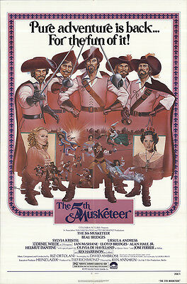 The Fifth Musketeer 1979 Original Movie Poster Adventure