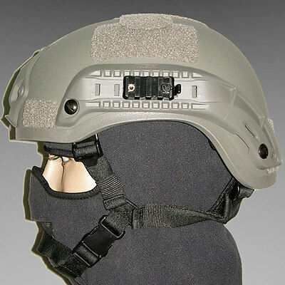 Mich 2001 Action Airsoft Fast Helmet Combat US Army Collectable Military Gray
