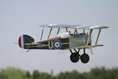 WWI 1/4 Scale  Sopwith Camel  Giant Scale RC AIrplane Rolled Plans & Templates