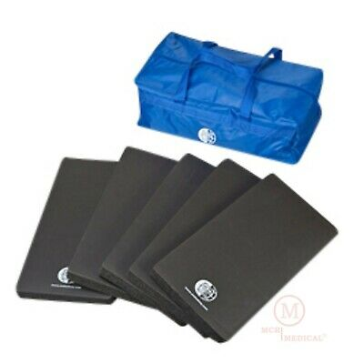 5 Pack CPR Kneeling Pad Training Mats w Carry Case, 16x8x1 WNLMAT CPR Mat / Pads