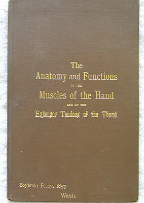 The Anatomy & Functions of the Muscles of the Hand and of the Extensor Tendons..