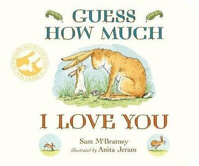 Guess How Much I Love You by Sam McBratney New Board book Book