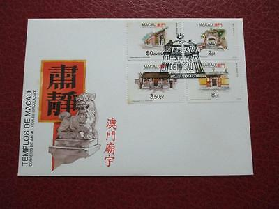 Macau FDC Cover 1993 Temples