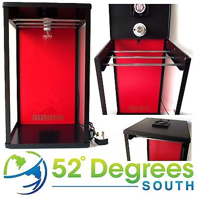 Biltong Maker Box with Red Back Panel Beef Jerky Dehydrator Spice FREE Spice