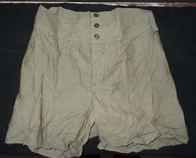 Ww2 Men's Boxer Shorts - Size 32 - Dated 1945 - N.o.s. #eq340