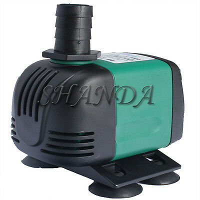 800L/H 4W Submersible Aqua Aquarium Fountain Pond Marine Water Pump Fish Tank