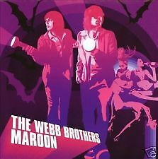 The Webb Brothers Maroon *** Cd ***brand New And Sealed