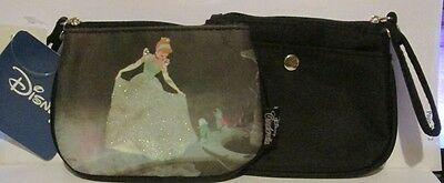 Disney Cinderella w/ Birds Cluch Coin Purse with Snap Section
