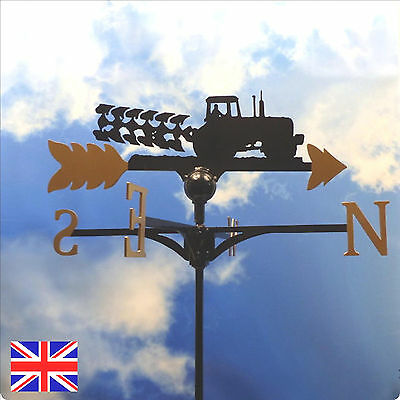 High Quality British Made Tractor and Plough Weathervane.(7G)