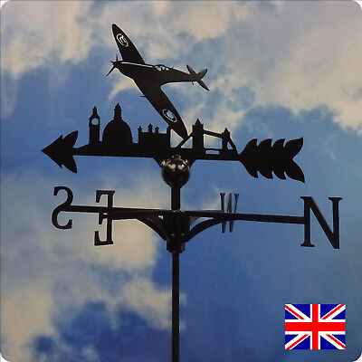 High Quality British Made Spitfire Weathervane.(39B)