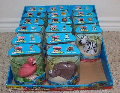 *NEW* Fisher Price Little People Zoo Talker Animals Sealed!!!