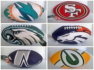 NFL Team Logo 1ft Plush TY American Football Toy