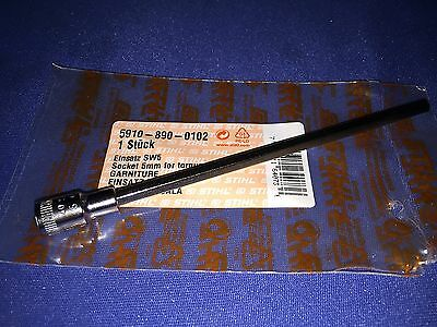 Stihl Chainsaw New OEM Tool 5910-890-0102 5mm hex bit and driver