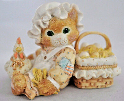 Calico Kittens: Friendship is the Best Blessing - Chicken and Basket - 102679